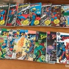 Tebeos: OFERTA LOTE DE 92 COMICS SUPERMAN ZINCO VOL 2+ 6 NUMEROS ESPECIALES EXTRAS. Lote 173347818