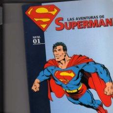 Tebeos: LAS AVENTURAS DE SUPERMAN DC, PLANETA LOTE ( Nº 1 AL 4 ). Lote 173595239