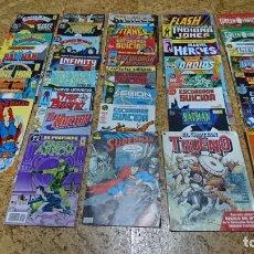 Livros de Banda Desenhada: LOTE DE 48 CÓMIC ZINCO, BAT-MAN, SUPERMAN, GREEN LANTERN, ESCUADRÓN SUICIDA Y MAS. Lote 173617830
