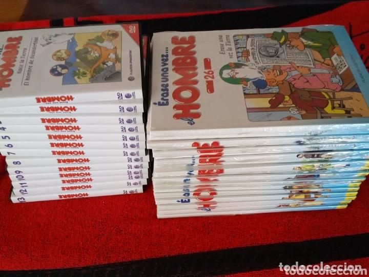COLECCIÓN COMPLETA ËRASE UNA VEZ EL HOMBRE (Tebeos y Comics - Tebeos Colecciones y Lotes Avanzados)