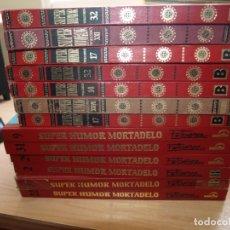 Tebeos: SUPER HUMOR - LOTE DE 13 NÚMEROS - TAPA DURA - BRUGUERA Y B - VER PORTADAS Y NÚMERACION. Lote 173934875