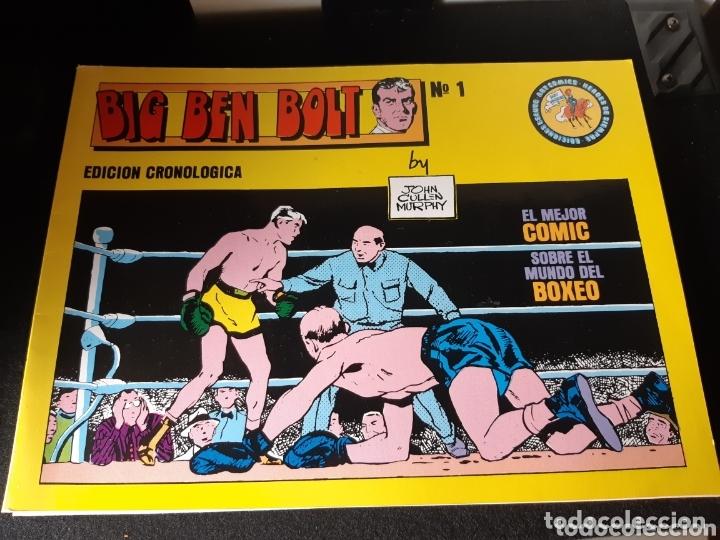 TEBEOS-CÓMICS CANDY - BIG BEN BOLT 1 AL 5 - ESEUVE- AA99 (Tebeos y Comics - Tebeos Colecciones y Lotes Avanzados)