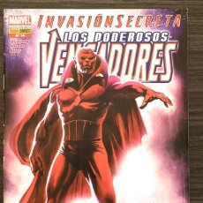 Livros de Banda Desenhada: LOS PODEROSOS VENGADORES 14 INVASION SECRETA MARVEL PANINI COMICS. Lote 174462518