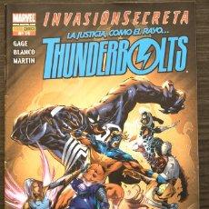 Livros de Banda Desenhada: THUNDER BOLTS 14 INVASIÓN SECRETA MARVEL PANINI COMICS. Lote 174462823