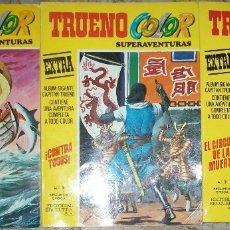 Tebeos: TRUENO COLOR 2ª EPOCA TOMOS (BRUGUERA) LOTE DE 3 NUMEROS. Lote 174465208