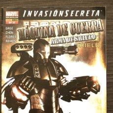 Livros de Banda Desenhada: MAQUINA DE GUERRA ARMA 17 DE SHILD INVASION SECRETA MARVEL PANINI COMIC. Lote 174466054