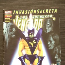 Livros de Banda Desenhada: LOS PODEROSOS VENGADORES 15 INVASIÓN SECRETA MARVEL PANINI COMICS. Lote 174469723