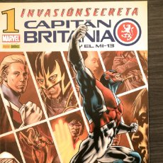 Livros de Banda Desenhada: CAPITAN BRITANIA 1 INVASIÓN SECRETA MARVEL PANINI COMICS. Lote 174470442