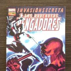 Livros de Banda Desenhada: LOS PODEROSOS VENGADORES 18 INVASIÓN SECRETA MARVEL PANINI COMICS. Lote 174472864