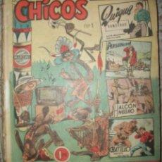 BDs: CHICOS (CID) TOMO SIN TAPAS CON 35 NUMEROS (DEL 1 AL 35) VER DESCRIPCION . Lote 174494177