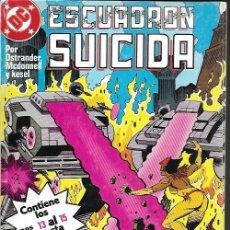 Tebeos: ESCUADRÓN SUICIDA. ZINCO 1989. COLECCIÓN COMPLETA (4 TOMOS). Lote 174568163