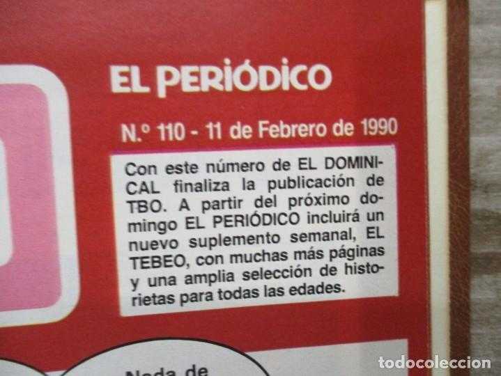 Tebeos: COLECCION COMPLETA TBO / EL PERIODICO -110 EJEMPLARES - TODOS LOS PERSONAJES BRUGUERA / TBO - Foto 3 - 174979279