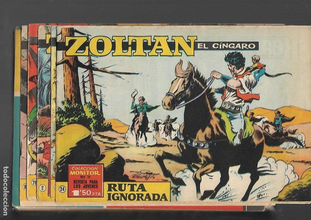 ZOLTAN EL CINGARO AÑO 1962 COLECCIÓN COMPLETA SON 80 TEBEOS ORIGINALES NUEVOS DIBUJADA POR BEAUMONT. (Tebeos y Comics - Tebeos Colecciones y Lotes Avanzados)