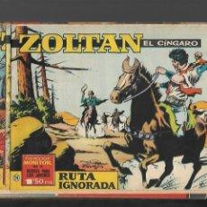 Tebeos: ZOLTAN EL CINGARO AÑO 1962 COLECCIÓN COMPLETA SON 80 TEBEOS ORIGINALES NUEVOS DIBUJADA POR BEAUMONT.. Lote 175052558