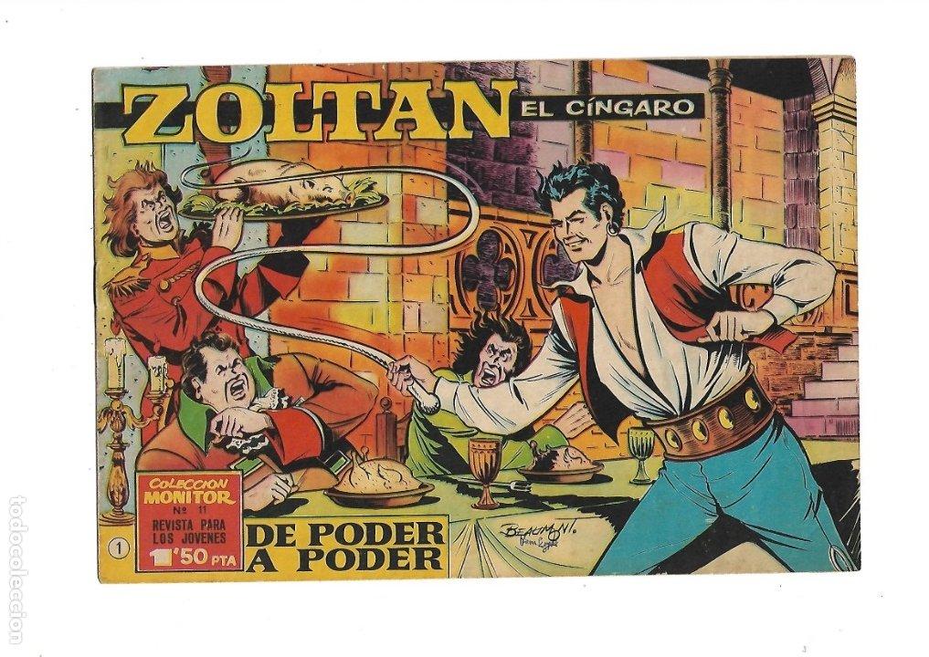 Tebeos: Zoltan el Cingaro Año 1962 Colección Completa son 80 Tebeos Originales nuevos dibujada por Beaumont. - Foto 2 - 175052558