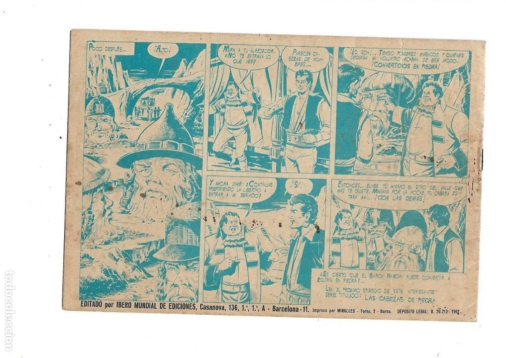 Tebeos: Zoltan el Cingaro Año 1962 Colección Completa son 80 Tebeos Originales nuevos dibujada por Beaumont. - Foto 3 - 175052558
