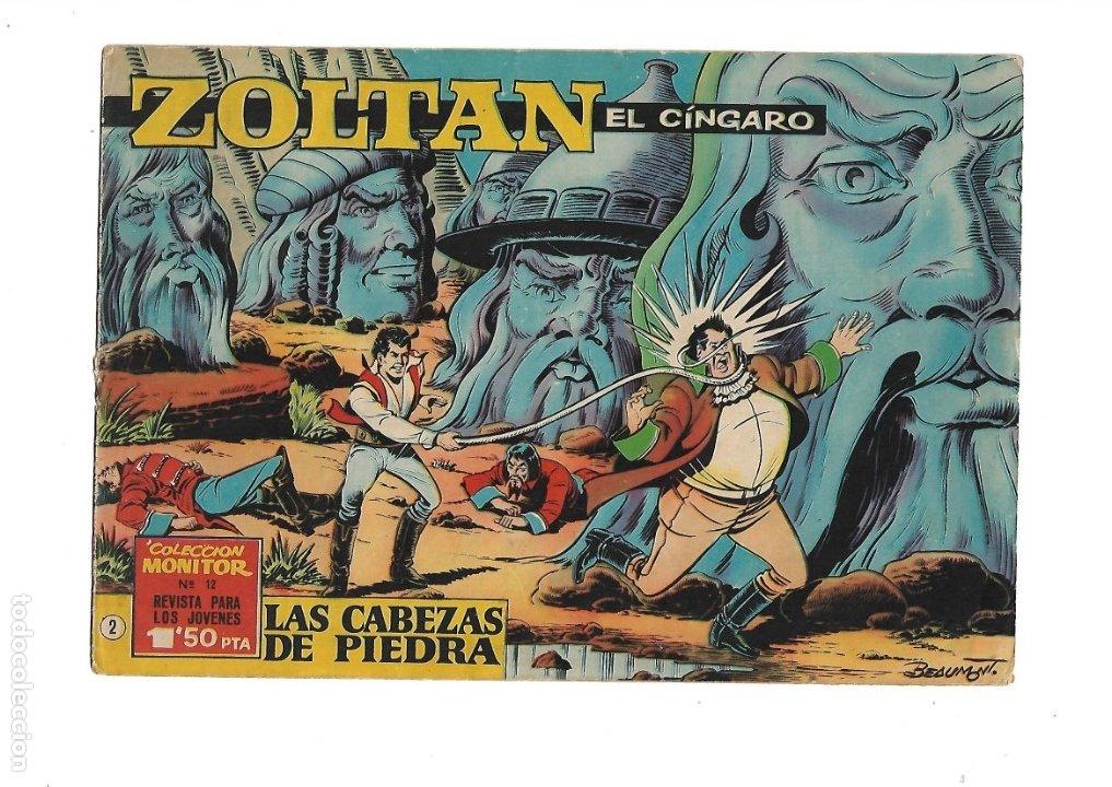 Tebeos: Zoltan el Cingaro Año 1962 Colección Completa son 80 Tebeos Originales nuevos dibujada por Beaumont. - Foto 4 - 175052558