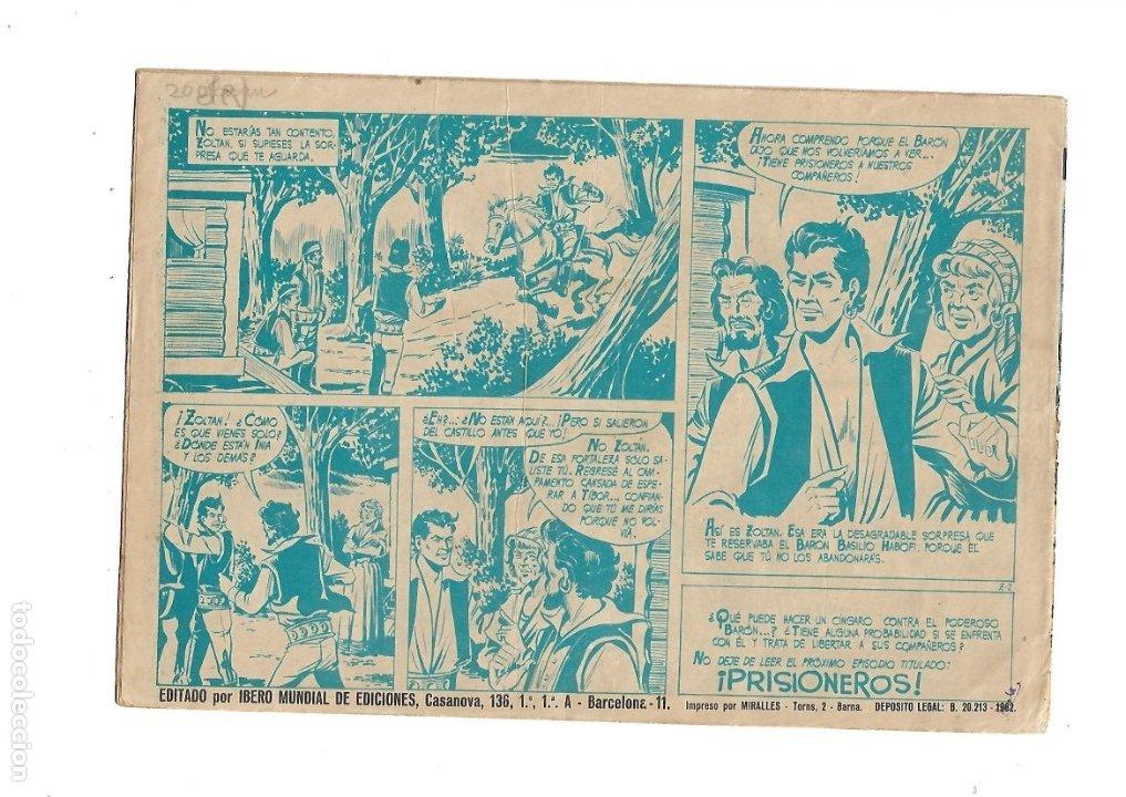 Tebeos: Zoltan el Cingaro Año 1962 Colección Completa son 80 Tebeos Originales nuevos dibujada por Beaumont. - Foto 5 - 175052558