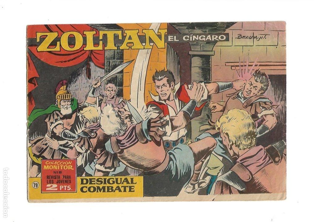 Tebeos: Zoltan el Cingaro Año 1962 Colección Completa son 80 Tebeos Originales nuevos dibujada por Beaumont. - Foto 6 - 175052558