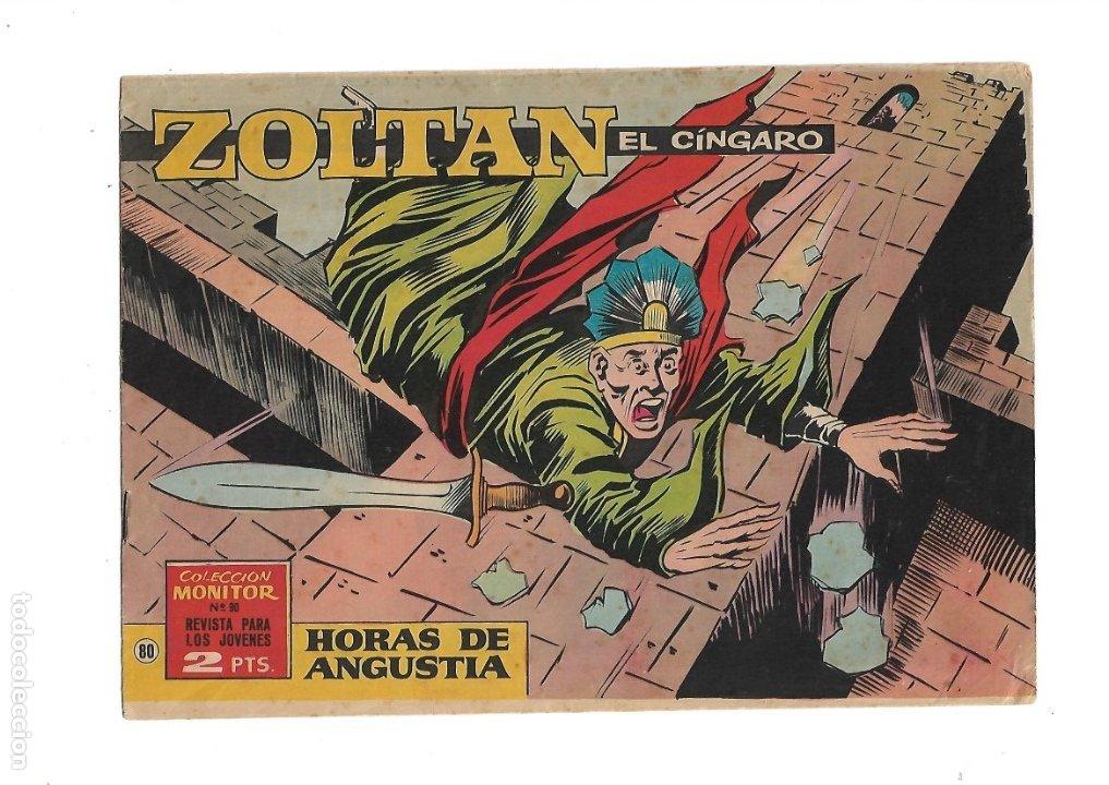 Tebeos: Zoltan el Cingaro Año 1962 Colección Completa son 80 Tebeos Originales nuevos dibujada por Beaumont. - Foto 8 - 175052558
