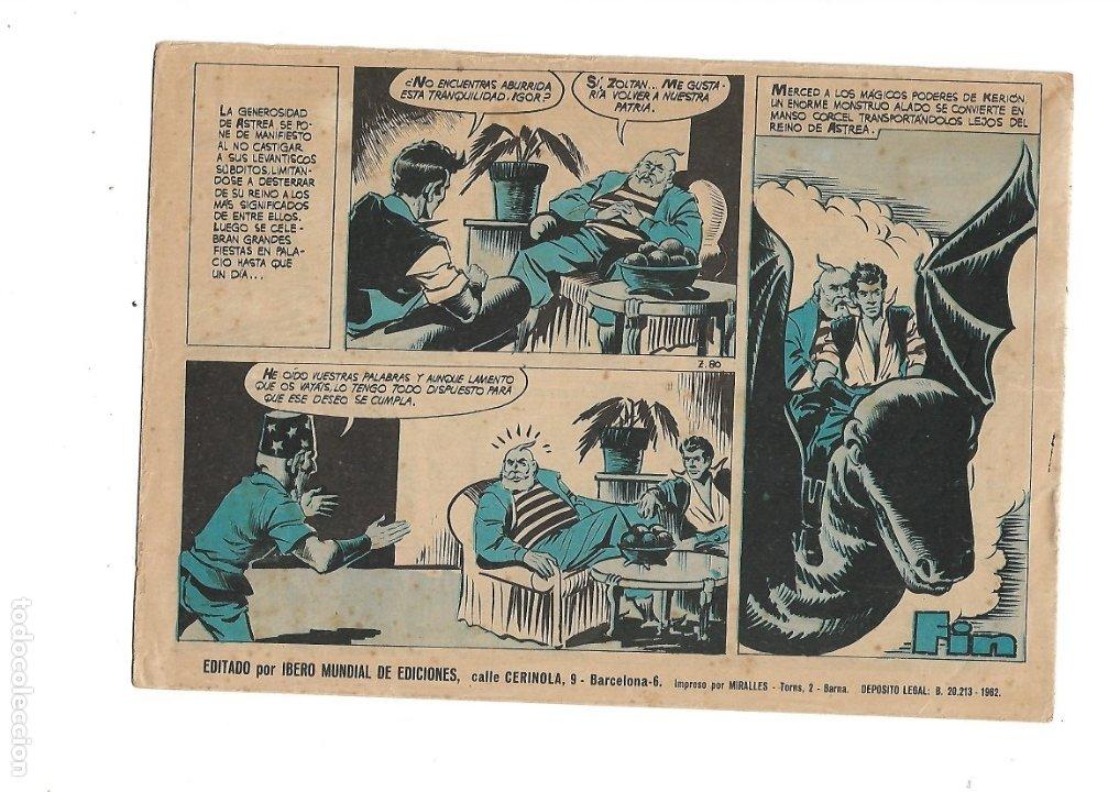 Tebeos: Zoltan el Cingaro Año 1962 Colección Completa son 80 Tebeos Originales nuevos dibujada por Beaumont. - Foto 9 - 175052558