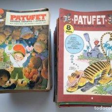 Tebeos: COLECCIÓN DE 155 EJEMPLARES DE PATUFET (1968-1973) DE LOS 167 PUBLICADOS.. Lote 175137775