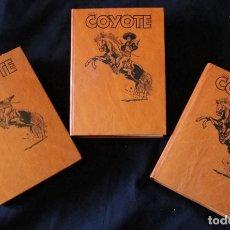 Tebeos: EL COYOTE - LOTE 3 VOLUMENES - 4, 8, Y 10 - EDICIONES FORUM, 1983 - J. MALLORQUI -. Lote 175158762