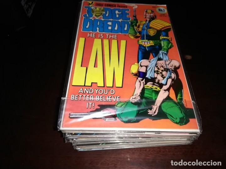 JUDGE DREDD 1 A 35 COLECCION ORIGINAL EN INGLES (Tebeos y Comics - Tebeos Colecciones y Lotes Avanzados)