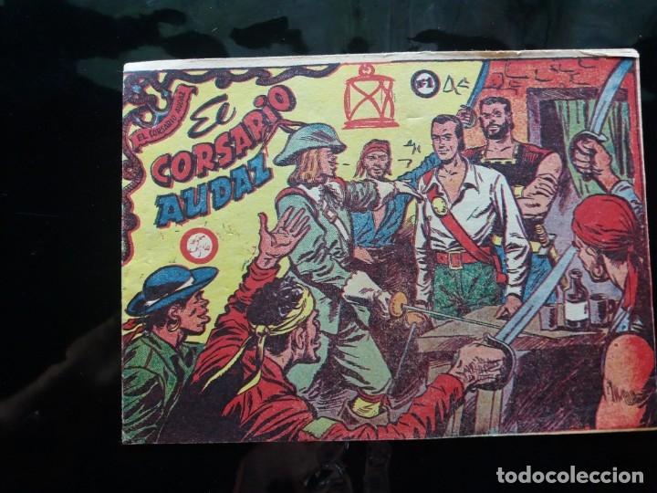 CORSARIO AUDAZ COMPLETA (RICART 1963) (Tebeos y Comics - Tebeos Colecciones y Lotes Avanzados)