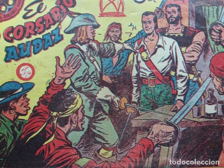 Tebeos: CORSARIO AUDAZ COMPLETA (Ricart 1963) - Foto 3 - 175345337