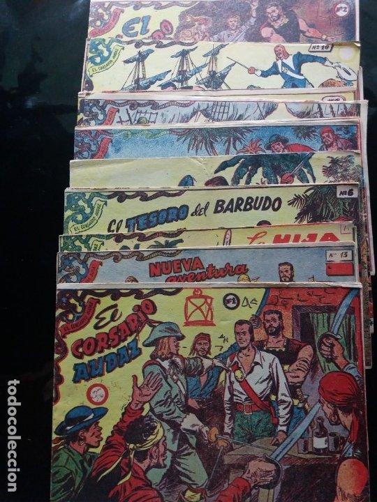 Tebeos: CORSARIO AUDAZ COMPLETA (Ricart 1963) - Foto 2 - 175345337