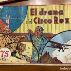 Tebeos: EL DRAMA DEL CIRCO REX. Lote 195369152