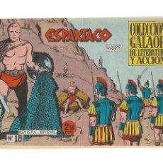 Tebeos: ESPARTACO, AÑO 1964 COLECCIÓN COMPLETA SON 26. TEBEOS ORIGINALES SUPERNUEVOS DIBUJOS C. TINOCO. Lote 175952254