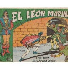 Tebeos: EL LEÓN MARINO AÑO 1961 COLECCIÓN COMPLETA 24 TEBEOS ORIGINALES DIBUJOS DE CLAUDIO TINOCO Y SIGARPE. Lote 175952980