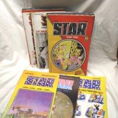 Tebeos: STAR LOTE DE 28 CÓMICS PRODUCCIONES EDITORIALES AÑO 1974, LISTA PUBLICADA. Lote 175969615