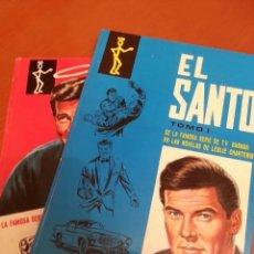 Tebeos: EL SANTO, TOMO I Y II , COMPLETA. SERIE TV- ROGER MOORE. Lote 176280347