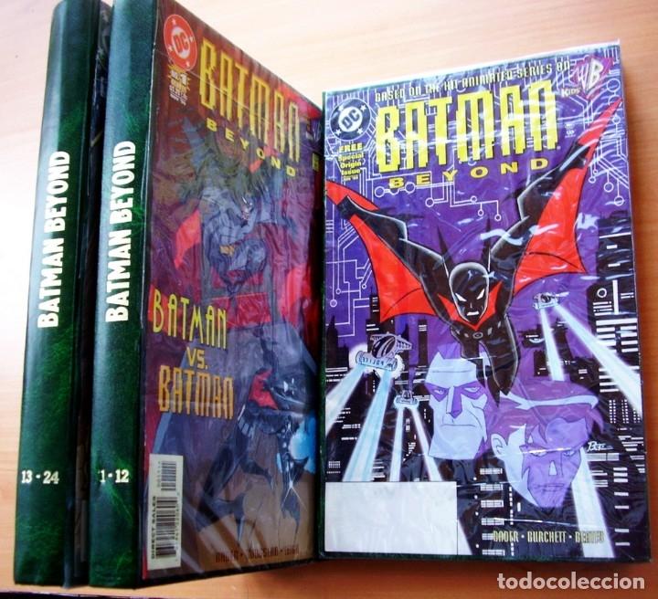 BATMAN BEYOND FUTURO COLECCION COMPLETA MAS EXTRA INGLES (Tebeos y Comics - Tebeos Colecciones y Lotes Avanzados)