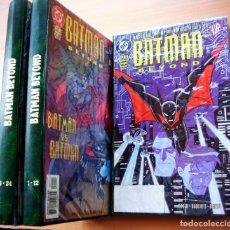 Tebeos: BATMAN BEYOND FUTURO COLECCION COMPLETA MAS EXTRA INGLES. Lote 176305464