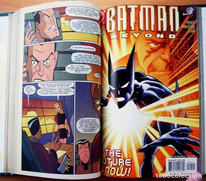 Tebeos: Batman Beyond Futuro Coleccion Completa mas Extra Ingles - Foto 4 - 176305464