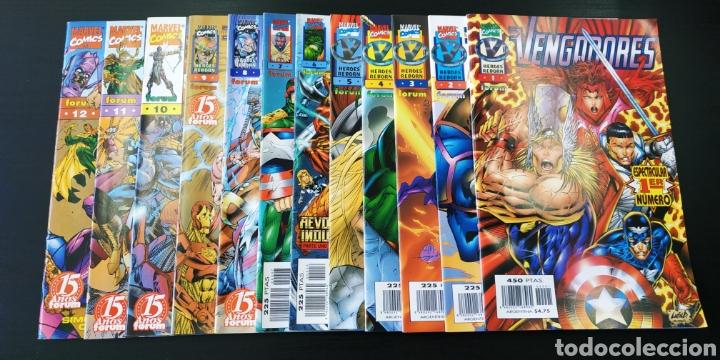 SUELTOS PREGUNTAR DE KIOSCO LOS VENGADORES HEROES REBORN FORUM (Tebeos y Comics - Tebeos Colecciones y Lotes Avanzados)