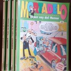 Tebeos: 4 TOMOS DE MORTADELO SUPER REY DEL HUMOR, NºS, 3, 6, 9 Y 10, - VER FOTOS. Lote 176580764
