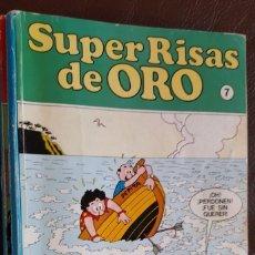 Tebeos: 2 TOMOS DE SUPER RISAS DE ORO, NºS, 7 Y 10, - VER FOTOS. Lote 176581357