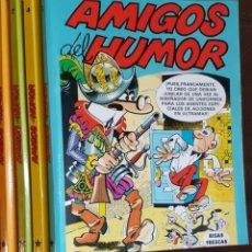 Tebeos: 4 - TOMOS AMIGOS DEL HUMOR, NºS, 2, 4, 7 Y 9 - VER FOTOS. Lote 176582374