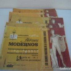 Tebeos: LOTE DE 8 Nº COLECCION HEROES MODERNOS. Lote 176597328