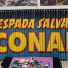 Tebeos: COLECCIÓN COMPLETA LA ESPADA SALVAJE DE CONAN,. Lote 176695115
