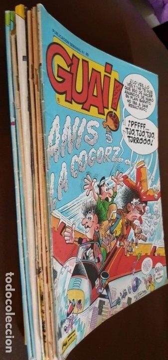 LOTE DE 11 TEBEOS - GUAI! (JUNIOR), - VER FOTOS Y NÚMEROS (Tebeos y Comics - Tebeos Colecciones y Lotes Avanzados)