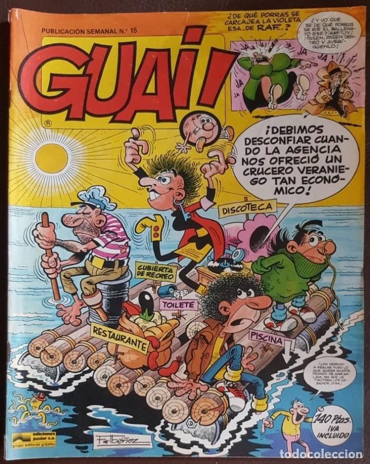 Tebeos: LOTE DE 11 TEBEOS - GUAI! (JUNIOR), - VER FOTOS Y NÚMEROS - Foto 4 - 176844055