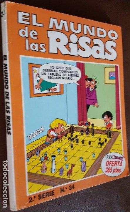 EL MUNDO DE LAS RISAS - TOMO Nº 24, - VER FOTOS (Tebeos y Comics - Tebeos Colecciones y Lotes Avanzados)