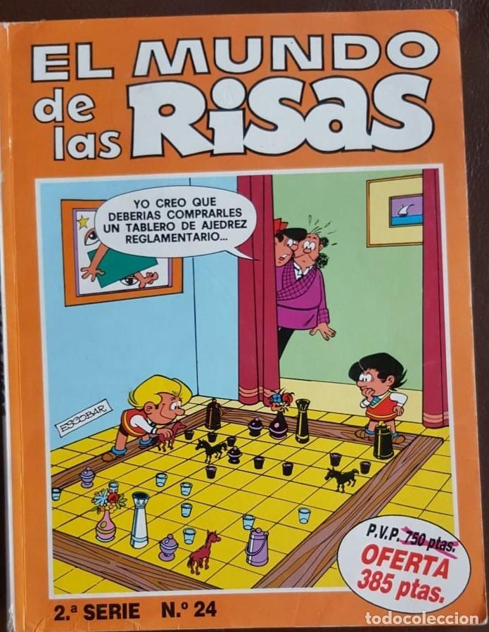 Tebeos: EL MUNDO DE LAS RISAS - TOMO Nº 24, - VER FOTOS - Foto 2 - 176844648