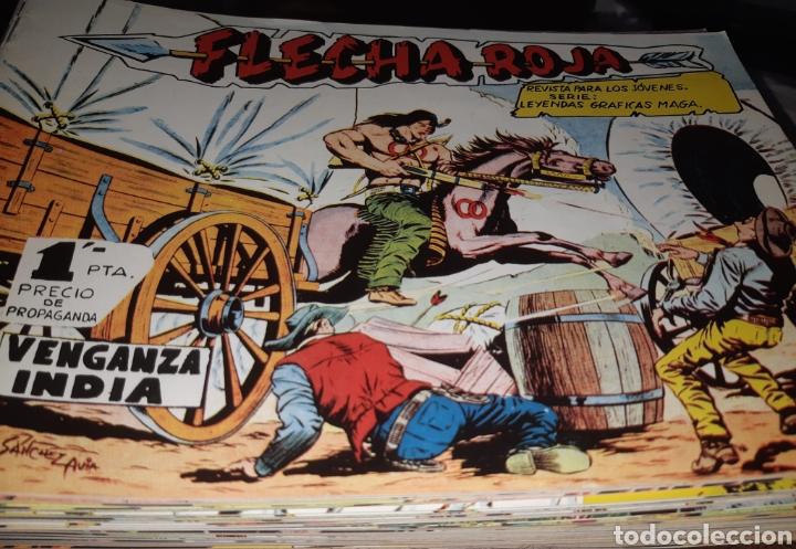 TEBEOS-CÓMICS CANDY - FLECHA ROJA - COMPLETA - AA99 (Tebeos y Comics - Tebeos Colecciones y Lotes Avanzados)